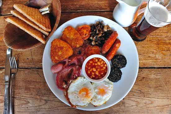 Full Irish Breakfast In Manhattan