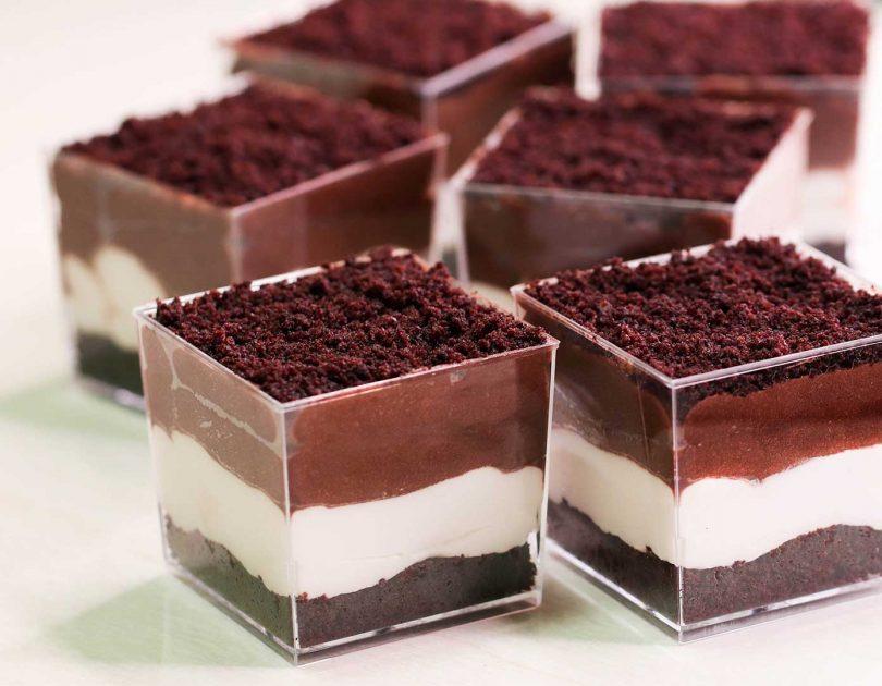 3 Layered Dessert Cup